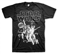 finest selection 5444f aa36c Star Wars Classic Poster T-Shirt