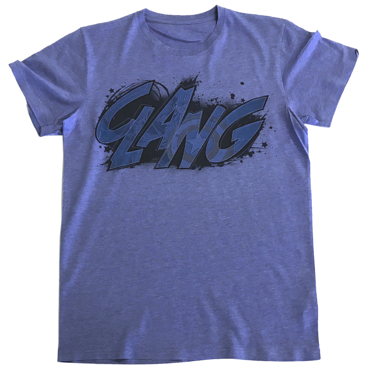 Captain America CLANG Tinted Tee