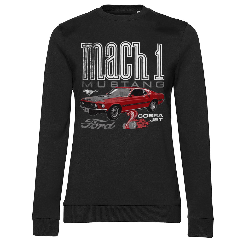 Ford Mach-1 Mustang Girly Sweatshirt