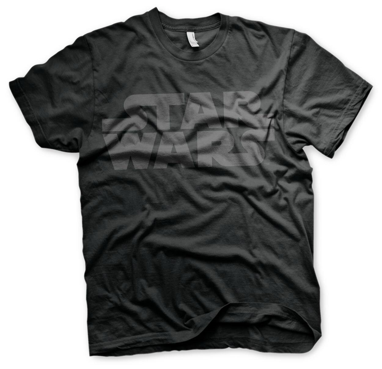 Star Wars Black Logo T-Shirt
