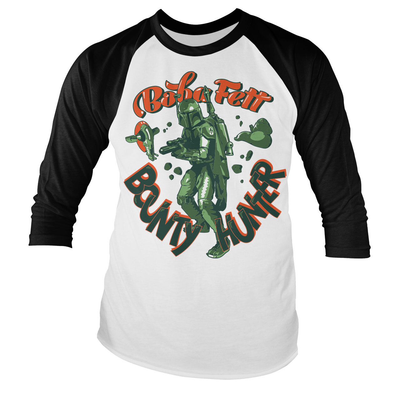 Star Wars - Boba Fett Baseball Long Sleeve Tee