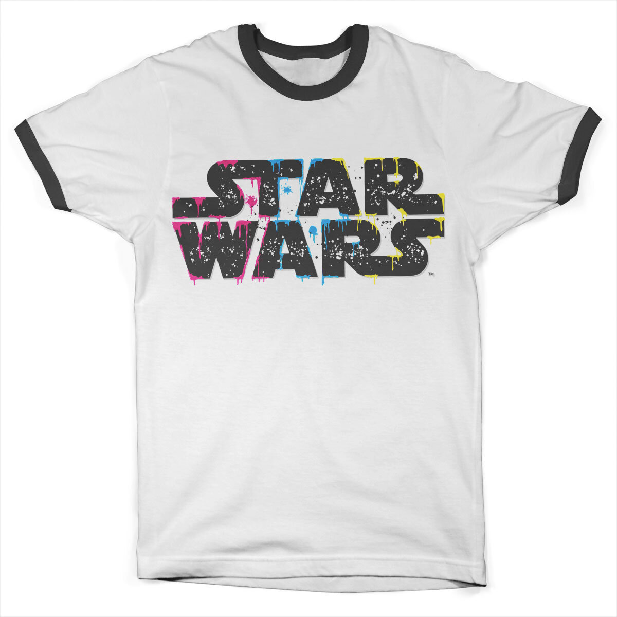 Inked Star Wars Logo Ringer Tee