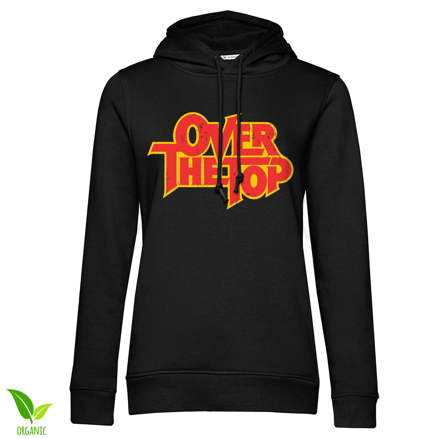 Over The Top Washed Logo Girls Hoodie
