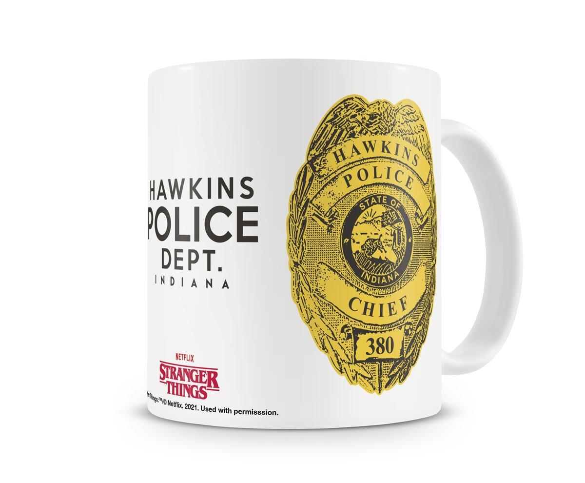 Hawkins Police Coffee Mug