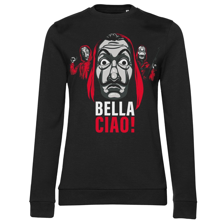 La Casa De Papel - Bella Ciao! Girly Sweatshirt