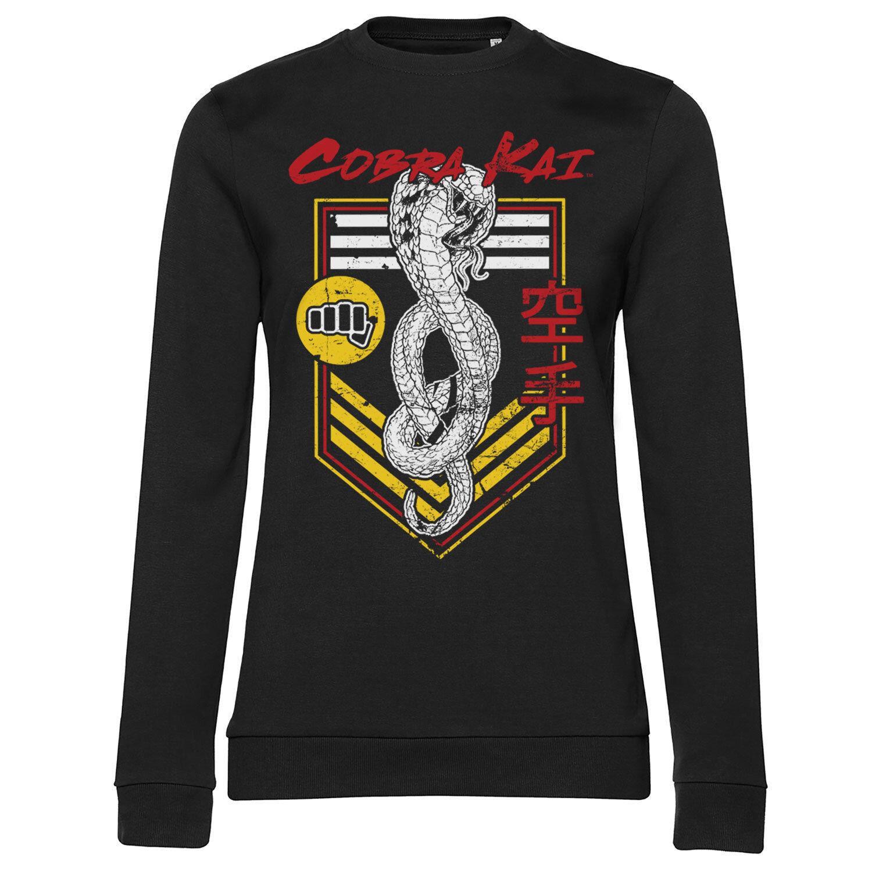 Cobra Kai Punch Patch Girly Sweatshirt