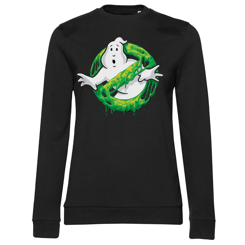 Ghostbusters Slime Logo Girly Sweatshirt
