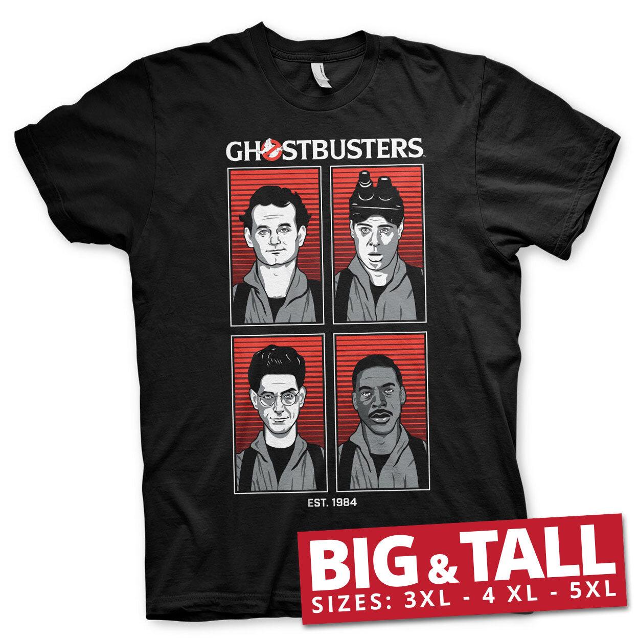 Ghostbusters Original Team Big & Tall T-Shirt