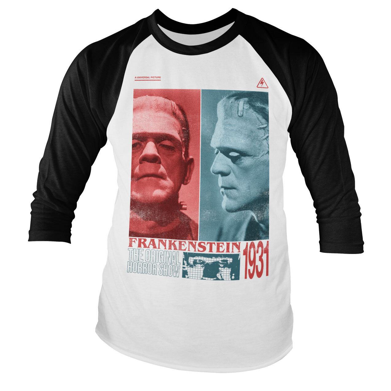 Frankenstein - Horror Show Baseball Long Sleeve Tee