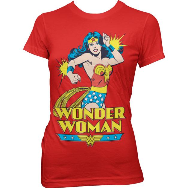 Wonder Woman Girly Tee